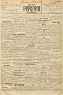 Nowa Reforma (numer poranny). 1907, nr316