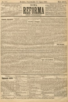 Nowa Reforma (numer popołudniowy). 1907, nr319