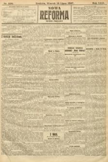 Nowa Reforma (numer poranny). 1907, nr320
