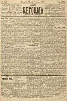 Nowa Reforma (numer popołudniowy). 1907, nr321