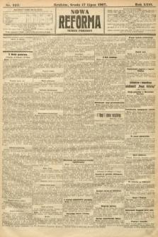 Nowa Reforma (numer poranny). 1907, nr322