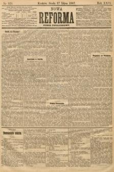 Nowa Reforma (numer popołudniowy). 1907, nr323