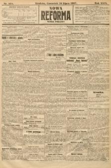 Nowa Reforma (numer poranny). 1907, nr324