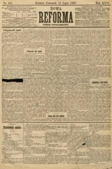 Nowa Reforma (numer popołudniowy). 1907, nr325