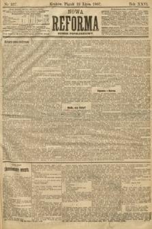 Nowa Reforma (numer popołudniowy). 1907, nr327
