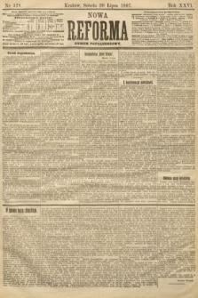 Nowa Reforma (numer popołudniowy). 1907, nr329