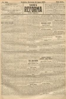 Nowa Reforma (numer poranny). 1907, nr330