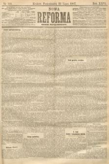Nowa Reforma (numer popołudniowy). 1907, nr331