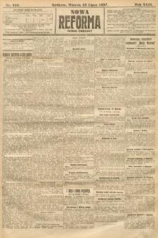Nowa Reforma (numer poranny). 1907, nr332