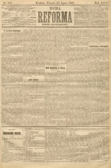 Nowa Reforma (numer popołudniowy). 1907, nr333