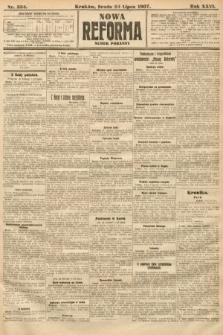 Nowa Reforma (numer poranny). 1907, nr334