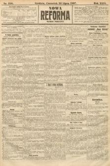 Nowa Reforma (numer poranny). 1907, nr336