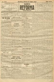 Nowa Reforma (numer poranny). 1907, nr340