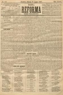 Nowa Reforma (numer popołudniowy). 1907, nr341