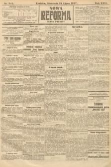 Nowa Reforma (numer poranny). 1907, nr342
