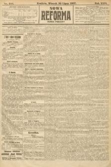 Nowa Reforma (numer poranny). 1907, nr344