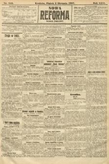 Nowa Reforma (numer poranny). 1907, nr350