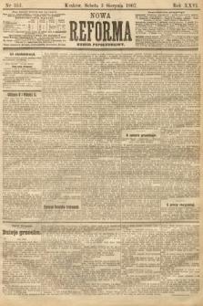 Nowa Reforma (numer popołudniowy). 1907, nr353
