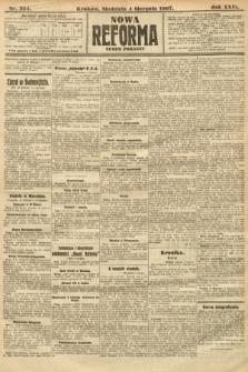 Nowa Reforma (numer poranny). 1907, nr354