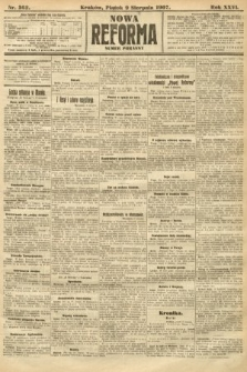 Nowa Reforma (numer poranny). 1907, nr362