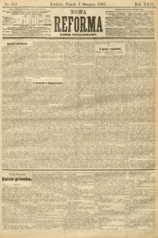 Nowa Reforma (numer popołudniowy). 1907, nr363