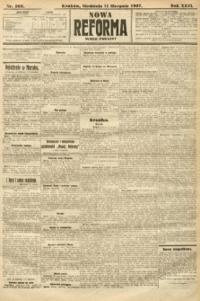 Nowa Reforma (numer poranny). 1907, nr366