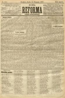 Nowa Reforma (numer popołudniowy). 1907, nr371