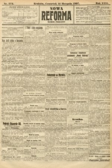 Nowa Reforma (numer poranny). 1907, nr372