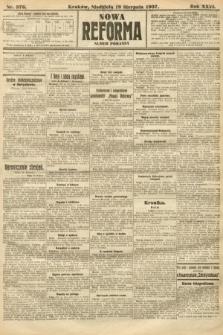 Nowa Reforma (numer poranny). 1907, nr376
