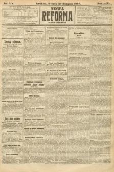 Nowa Reforma (numer poranny). 1907, nr378