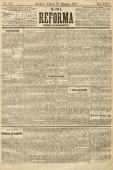 Nowa Reforma (numer popołudniowy). 1907, nr379