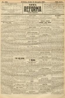 Nowa Reforma (numer poranny). 1907, nr380