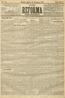 Nowa Reforma (numer popołudniowy). 1907, nr381