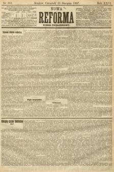 Nowa Reforma (numer popołudniowy). 1907, nr383