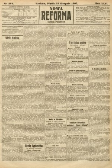 Nowa Reforma (numer poranny). 1907, nr384