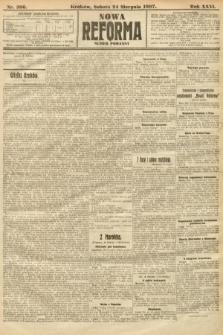 Nowa Reforma (numer poranny). 1907, nr386