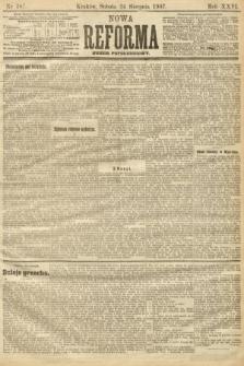 Nowa Reforma (numer popołudniowy). 1907, nr387