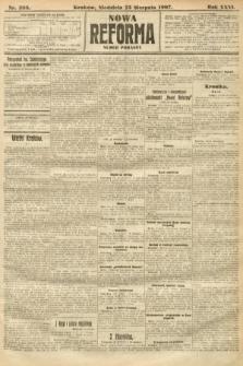 Nowa Reforma (numer poranny). 1907, nr388