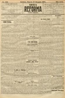 Nowa Reforma (numer poranny). 1907, nr390