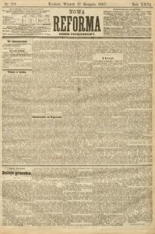 Nowa Reforma (numer popołudniowy). 1907, nr391