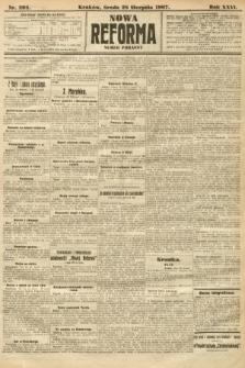 Nowa Reforma (numer poranny). 1907, nr392