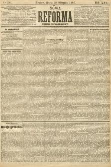 Nowa Reforma (numer popołudniowy). 1907, nr393