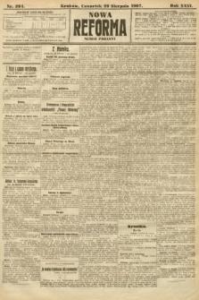 Nowa Reforma (numer poranny). 1907, nr394