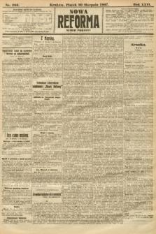 Nowa Reforma (numer poranny). 1907, nr396
