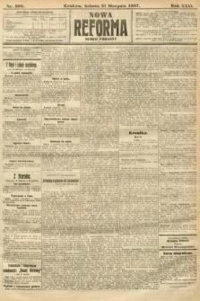 Nowa Reforma (numer poranny). 1907, nr398