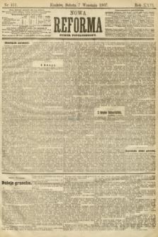 Nowa Reforma (numer popołudniowy). 1907, nr411