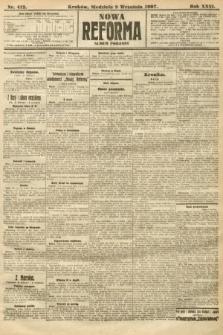 Nowa Reforma (numer popołudniowy). 1907, nr412