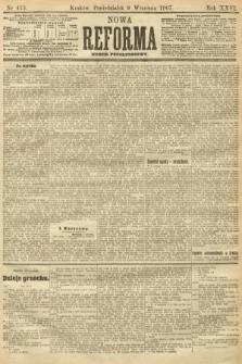 Nowa Reforma (numer popołudniowy). 1907, nr413