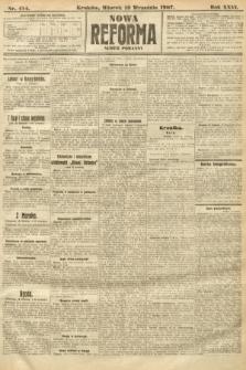 Nowa Reforma (numer poranny). 1907, nr414