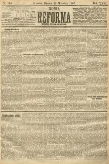 Nowa Reforma (numer popołudniowy). 1907, nr415